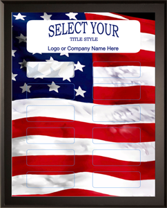 Patriotic Flag DIY Plaque Kit